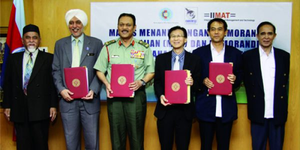 MOU Signing Ceremony with National Defence University (2013)